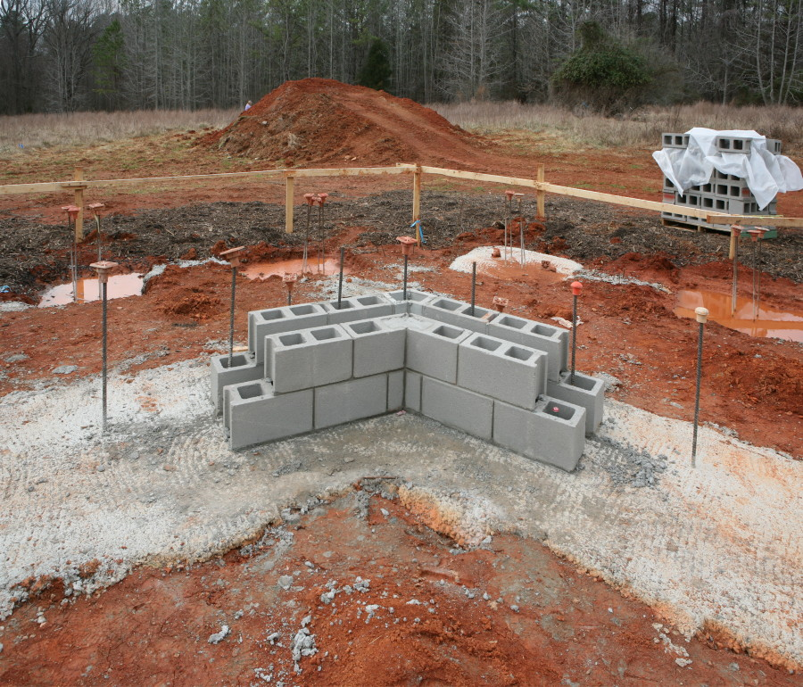 Construction Photos: Week 6 (first Mitered Corners And