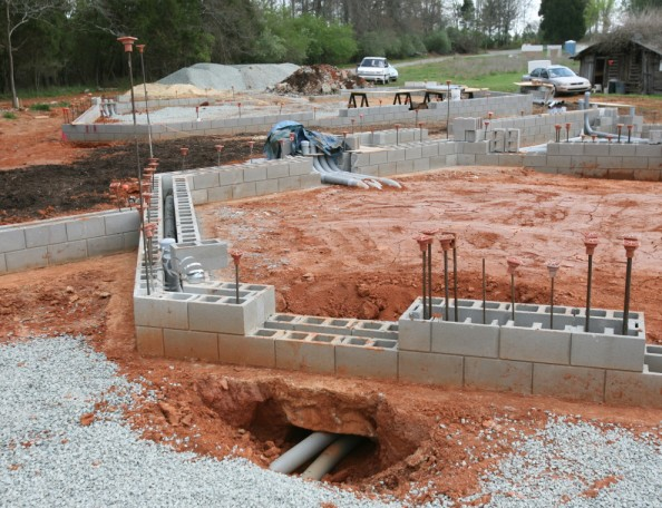 Ins and Outs (conduits under footings)