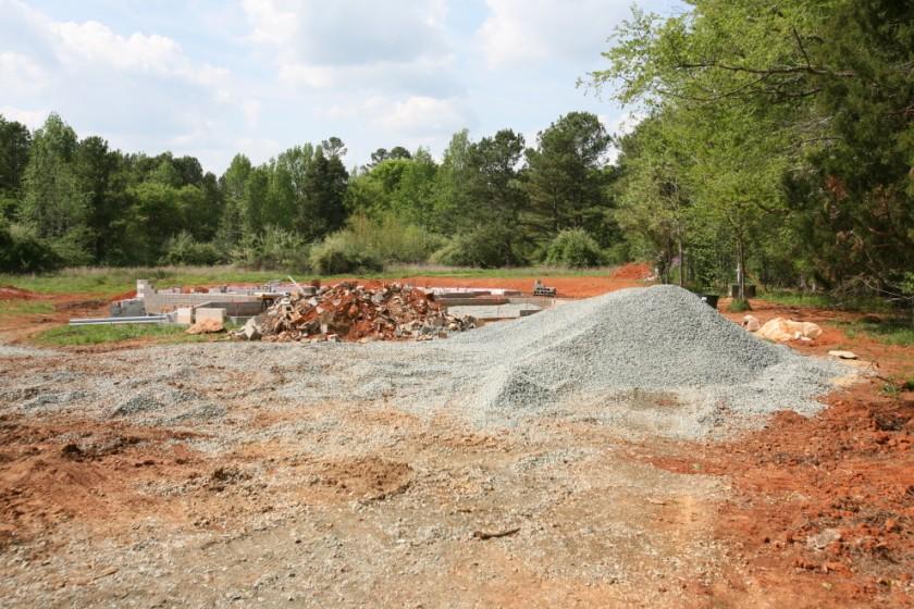 Smaller Gravel Pile