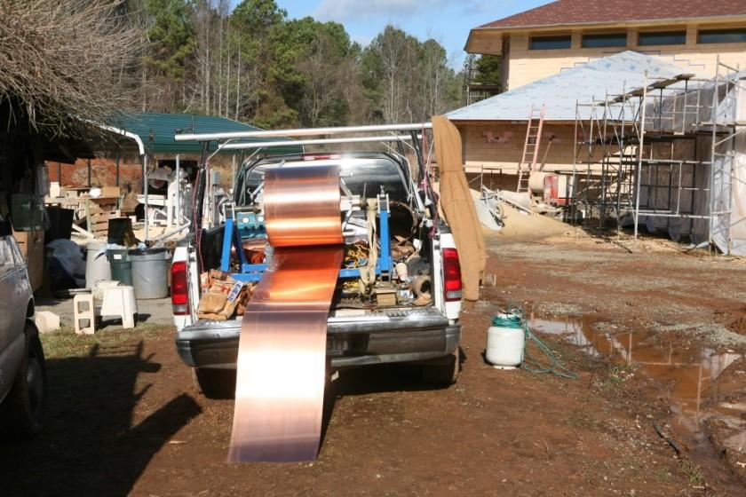 CopperFlashing