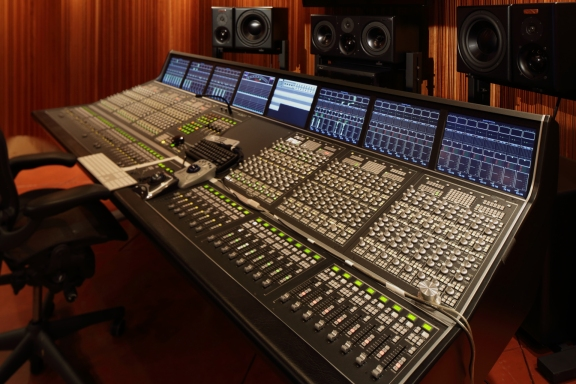 144 Channel Harrison Trion Console