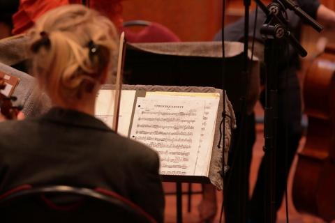 Streichquartett Musical Score